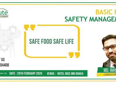 Basic Food Safety Management