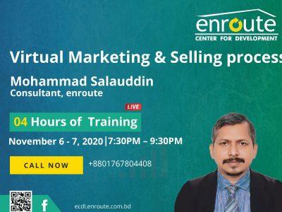 Virtual Marketing & selling process