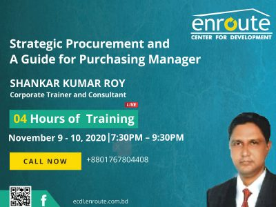 Strategic Procurement and A Guide for Purchasing Manager