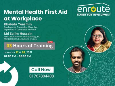 Mental Health First Aid at Workplace