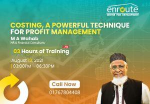 Costing, A powerful technique for profit management